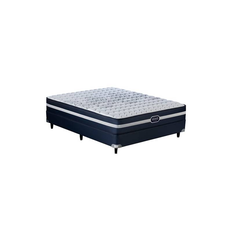190x130 Simmons BeautyRest Recharge Supreme Juego Colchon + Sommier ...