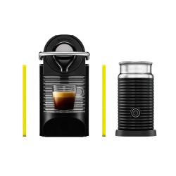 Maquina de Café Nespresso Modelo Pixie clips Pack Black & Yellow
