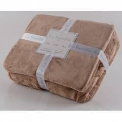 COVER FLANNEL BABY SKIN BEIGE KING SIZE
