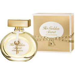 Her Golden Secret 80 ml. EDT FEM - Antonio Banderas