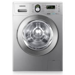 Lavarropas Samsung Carga Frontal Wf1904 Plata Silver 9 Kg 1400 Rpm