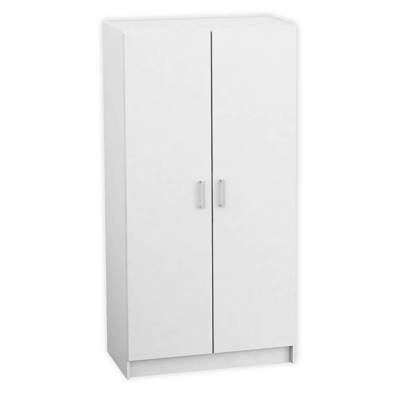 Ropero placard melamina 2 puertas 1 80 nuevo blanco env o - Puertas de melamina ...