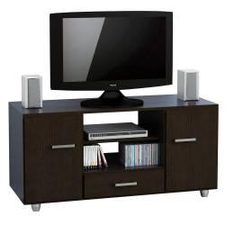 Mesa Rack Tv Lcd Led Mueble Modular 2 Puertas Wengue Envios