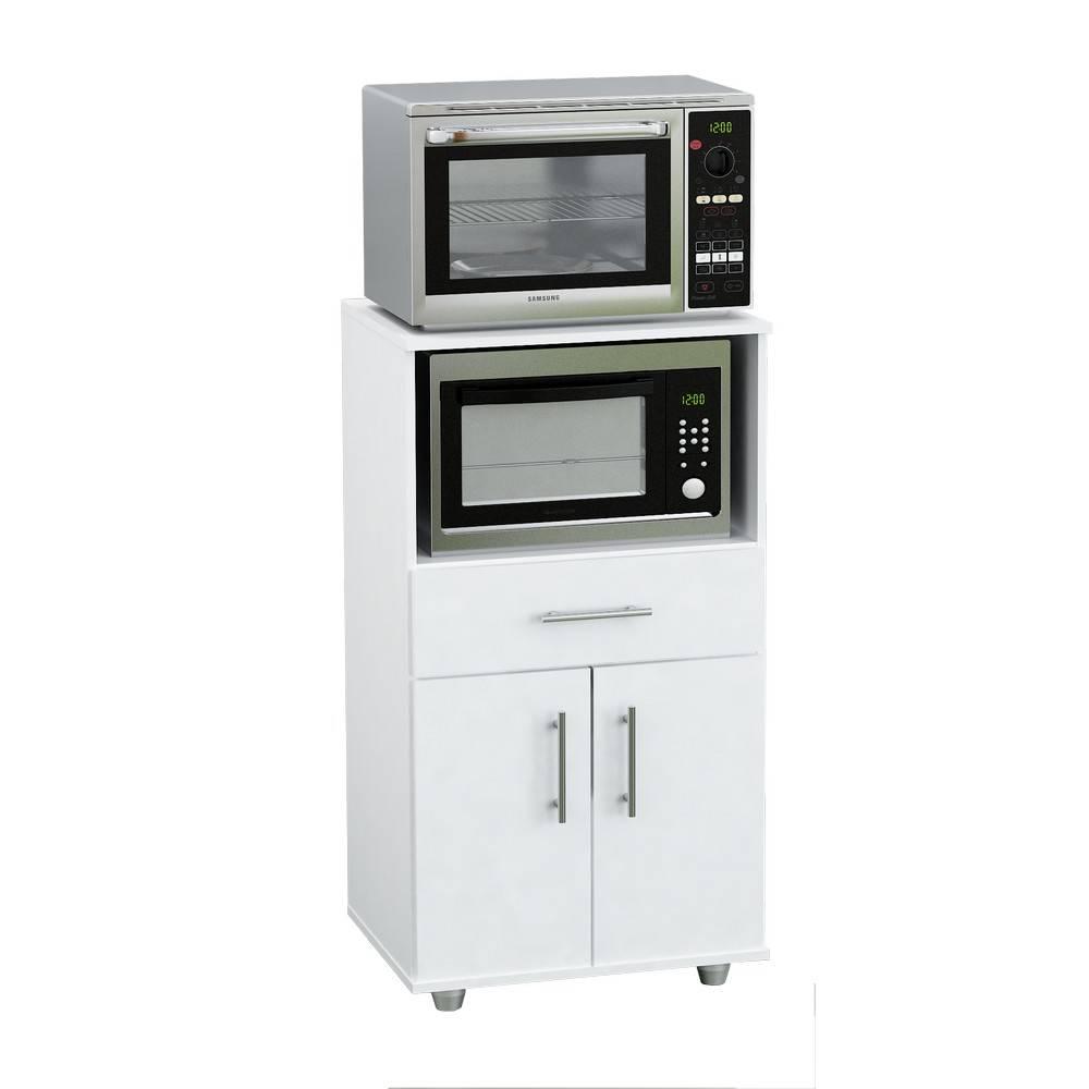 Mueble Microondas Grill Organizador Cocina 2 Puertas B Envio  # Muebles Microondas