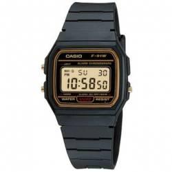 Reloj Casio Vintage F-91W - Marrón