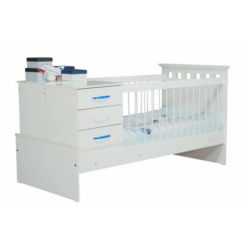 Cunas con cajones para bebes dormitorio brad para bebs - Cuna plegable ikea ...