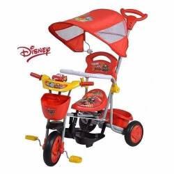 Triciclo Disney Modelo XG8001 - Modelo Cars