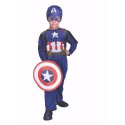 Disfraz Capitan America Talle 2