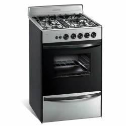 Cocina Longvie 13331XF Multigas 56Cm Acero Inox