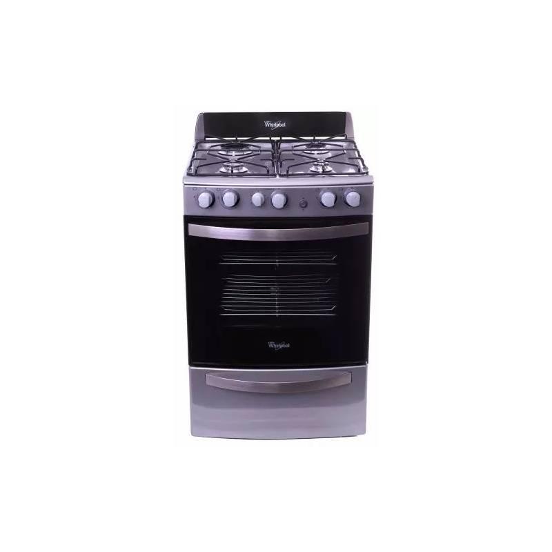 cocina whirlpool multigas 55 cm acero inox wfx56dx