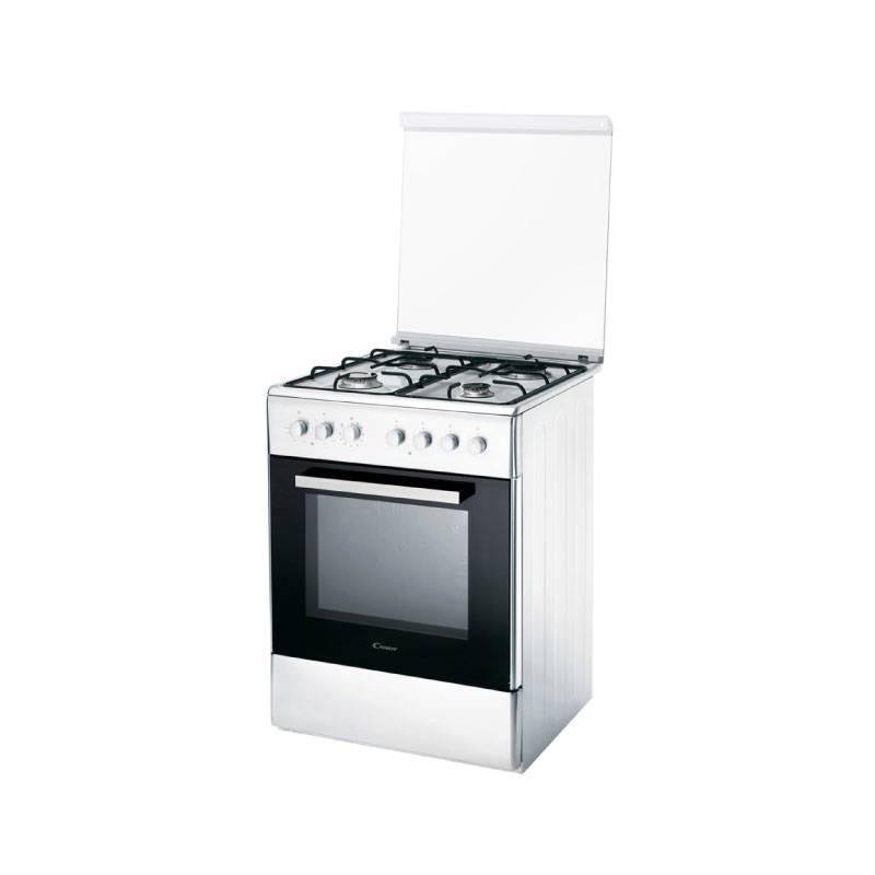 Cocina candy mixta horno electrico ccg6503pw blanca icbc Cocinas y hornos electricos