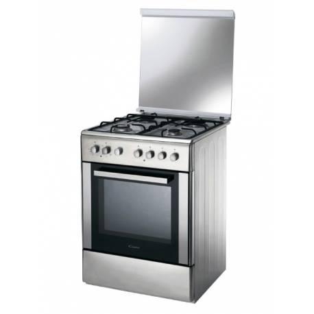 Cocina candy mixta horno electrico ccg6503px acero for Hornos de cocina electricos