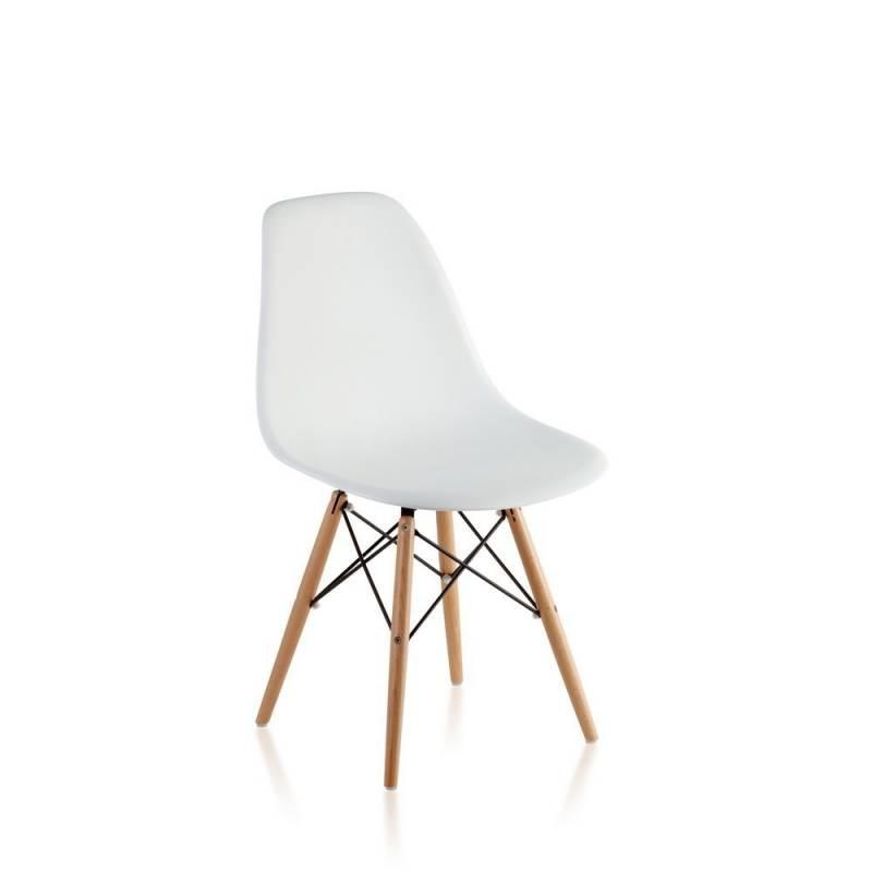 silla eames dsw blanca patas madera icbc store