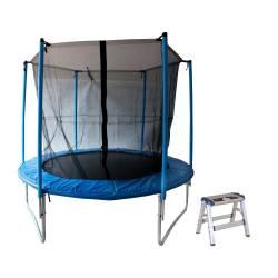 Combo cama elástica 2,40 m + banquito