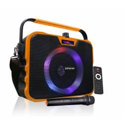 Parlante Panacom Modelo 3060 con Micrófono Inalámbrico con Bluetooth