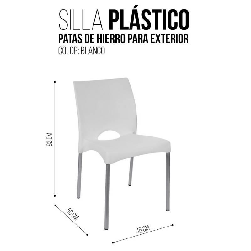 Mesa cuadrada 4 sillas patas metal blanca icbc store for Mesa cuadrada blanca