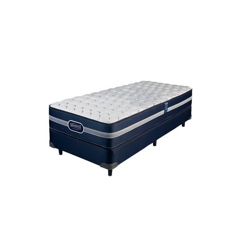 190x080 Simmons BeautyRest Recharge Supreme Juego Colchon + Sommier ...