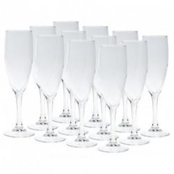 Set de 12 copas de Champagne Volf Merlot