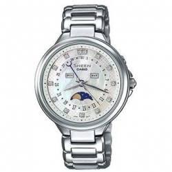 Reloj Casio SHE3044D-7A-Plateado - FEM