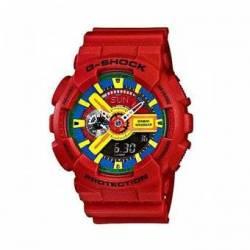 Reloj Casio GA110FC-1A-Rojo - MEN