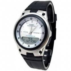 Reloj Casio AW80-7A2-Negro - Plateado para Hombre