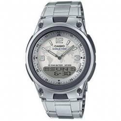 Reloj Casio AW80D-7A2-Plateado para Hombre