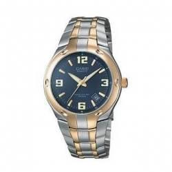 Reloj Casio EF106SG-2A-Plateado - Dorado para Hombre