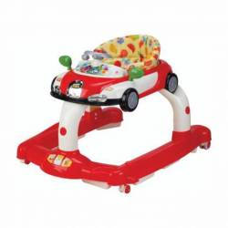 Andador autito rojo juegos y asiento
