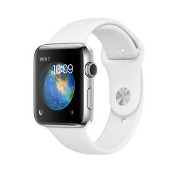Apple - WATCH 2 42MM STAINLESS SPORT