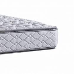 100x190 La Cardeuse resorte tradicional con pillow colchon plaza y media Bonelltop
