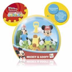 Figuras blister Mickey Goofy