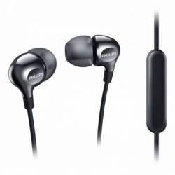 Auriculares Philips intrauditivos con Micrófono SHE3705BK/00