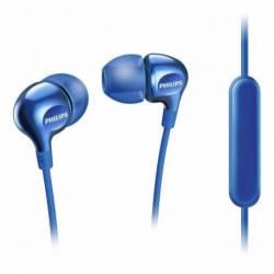 Auriculares Philips intrauditivos con Micrófono SHE3705BL/00