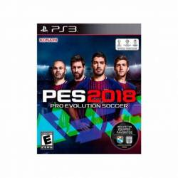 Juego PS3 PRO EVOLUTION SOCCER 2018