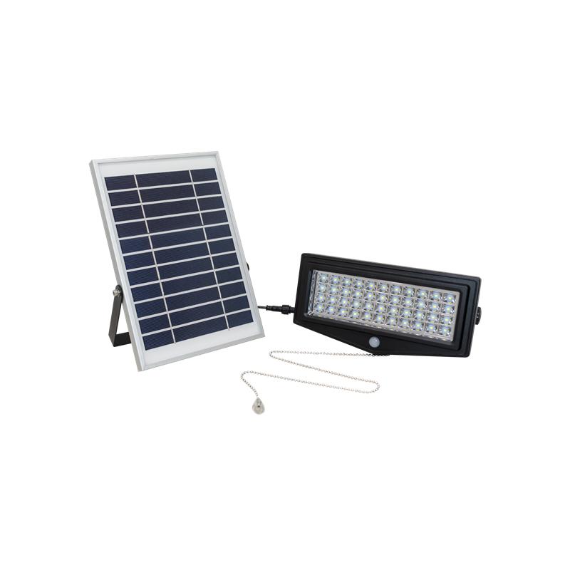 Luz Led Solar Lunnom Lnmh 04 Exterior Con Control Sensor De Movimiento Y Presencia Icbc Store