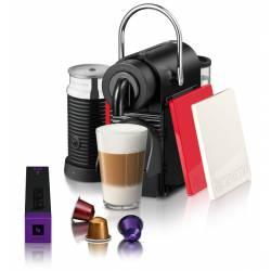Maquina de Café Nespresso Modelo Pixie Clips Pack White & Red