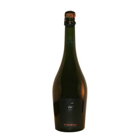 ALMA NEGRA BRUT NATURE ROSE x6 un.