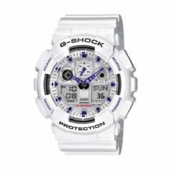 Reloj Casio GA100A-7A-Blanco