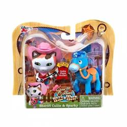 Sheriff Callie y Su Caballo Sparky Pack x 2