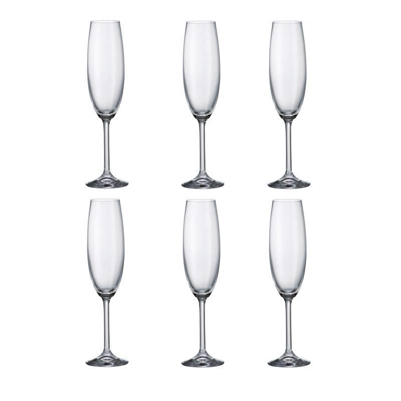 Flutes champagne cristal simple cristal duarques amarante for Copas de champagne