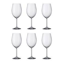 Copas de Vino de 480ml Cristal de Bohemia - juego x 6