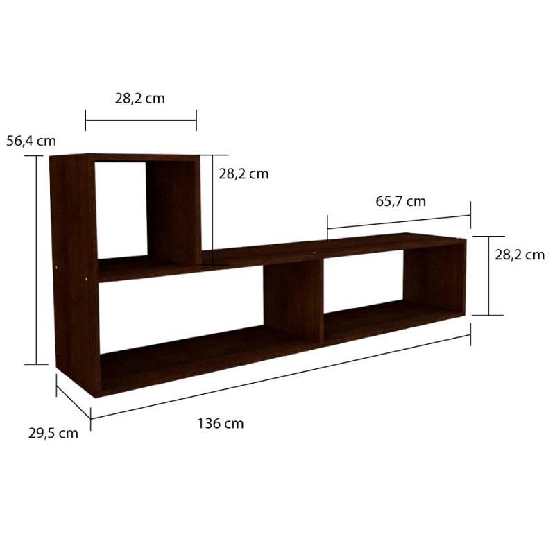 Muebles para tv modernos top encuentra mueble de tv for Muebles l moderno