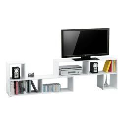 Mueble rack moderno para TV x 2 módulos en forma de L